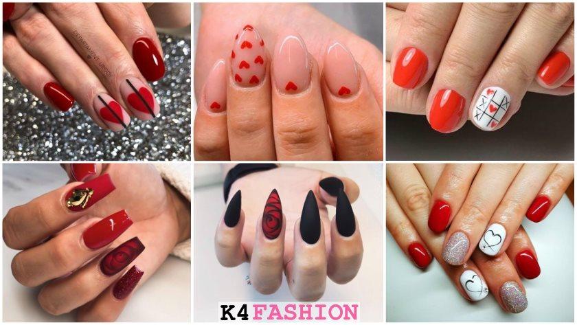 100 Latest Nail Art Ideas For Valentine S Day 2020 K4 Fashion