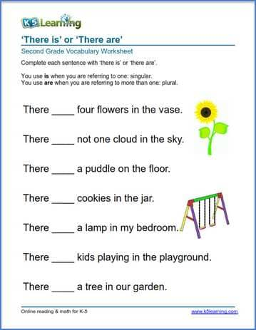 There Is Or There Are In Sentences