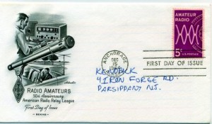 Amateur Radio First Day Cover --- Microphone