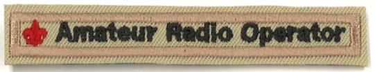 Amateur Operator Strip