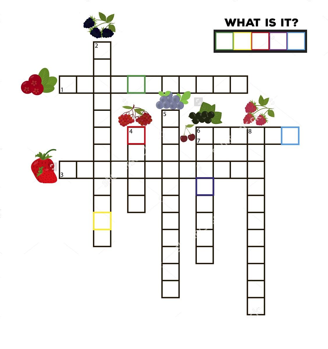 Crossword Puzzles For Children