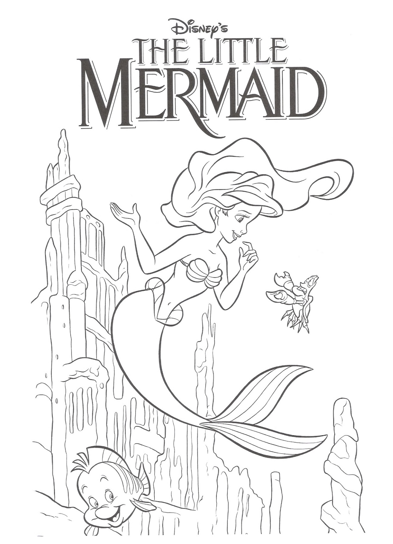 The Little Mermaid Worksheets