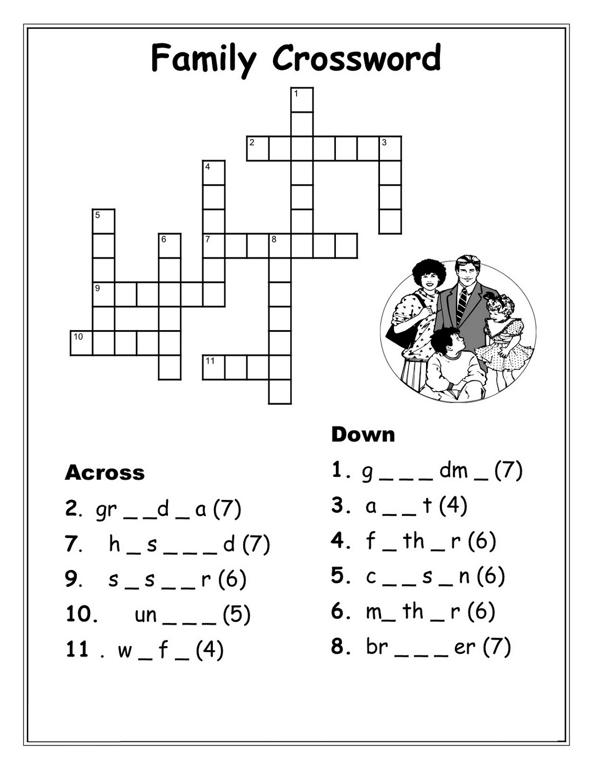 Very Easy Crossword Puzzles