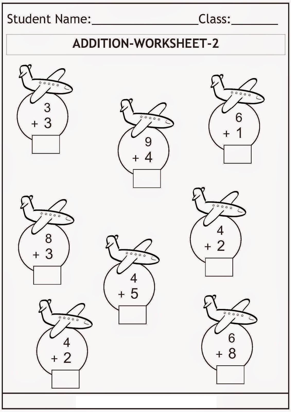 Printable K5 Worksheets