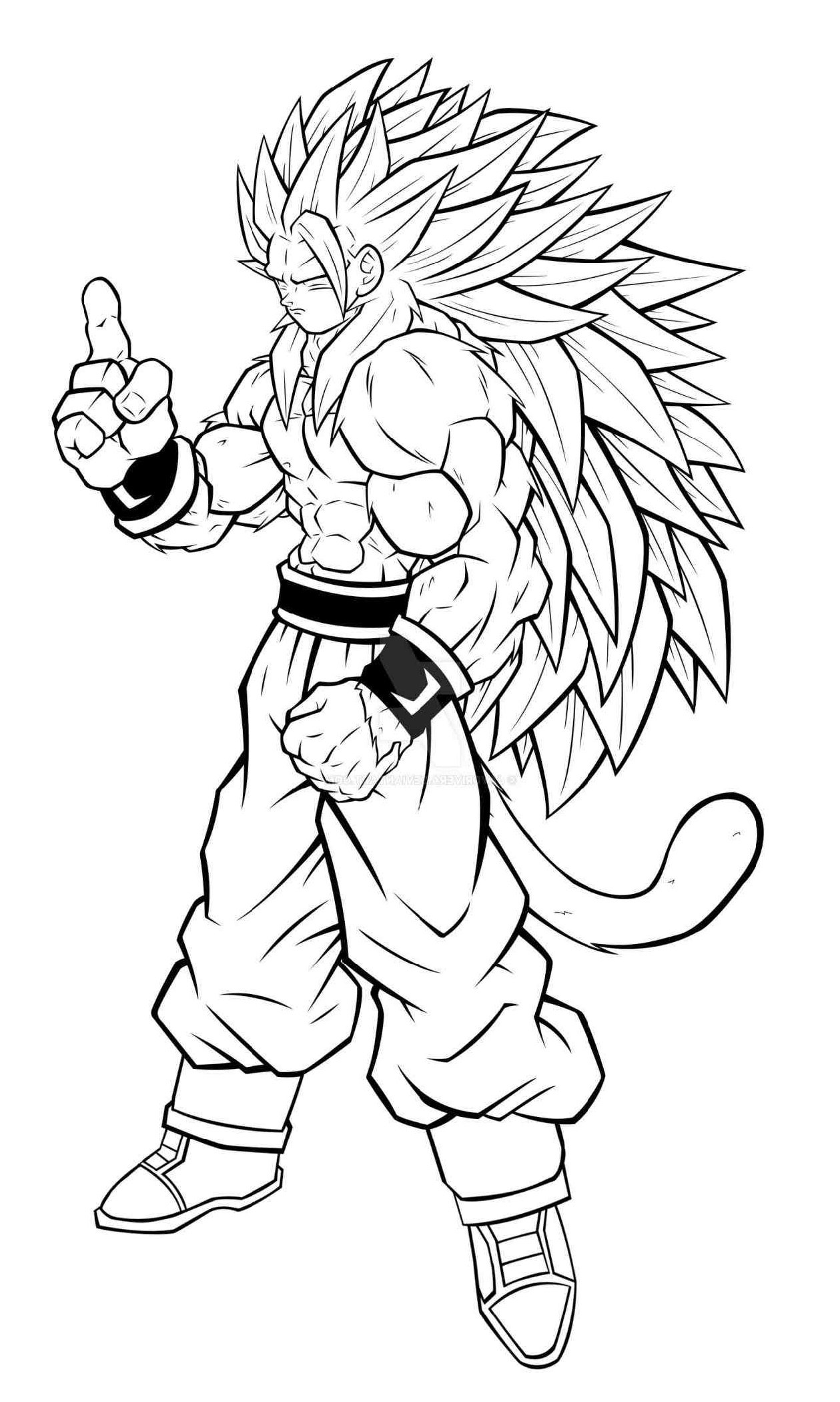 Dragon Ball Z Coloring Pages Trunks K5 Worksheets