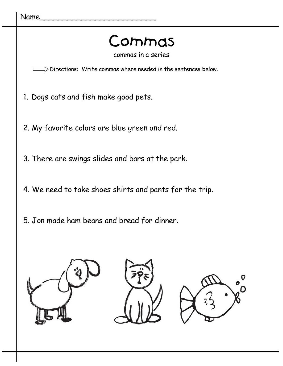K5 Learning Worksheets For Science