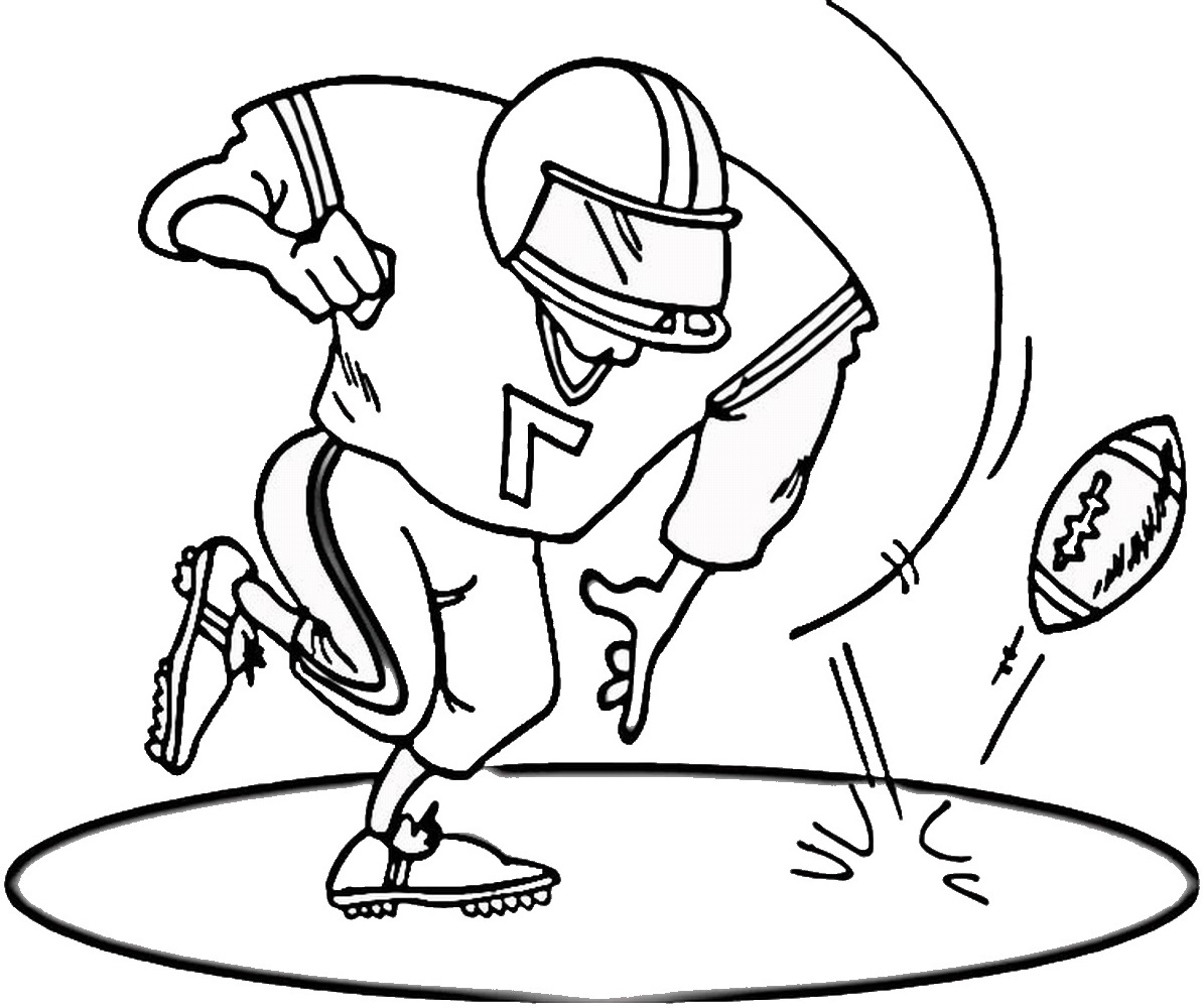 Football Coloring Pages Free