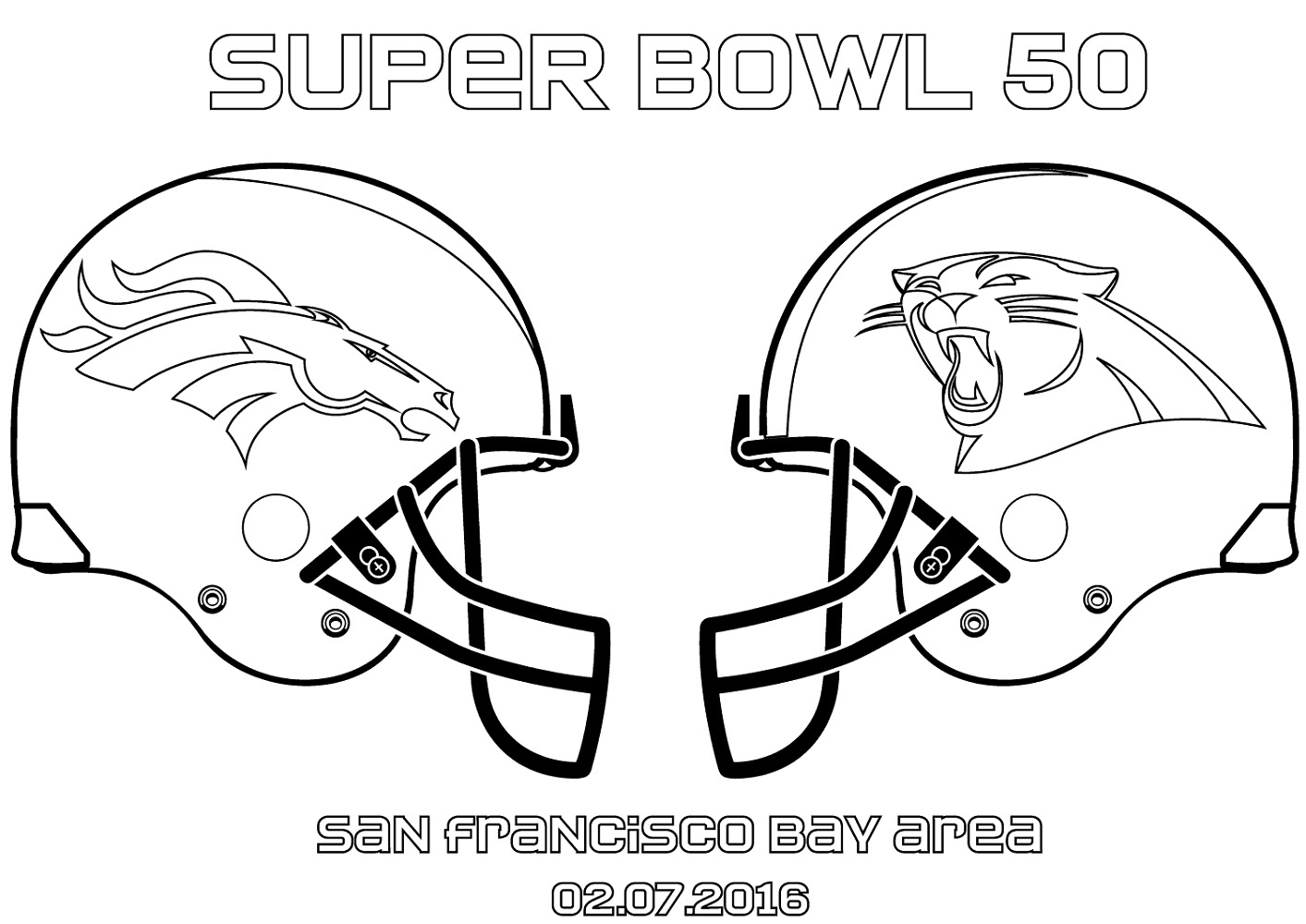 Nfl Broncos Coloring Pages | Wiring Diagram Database