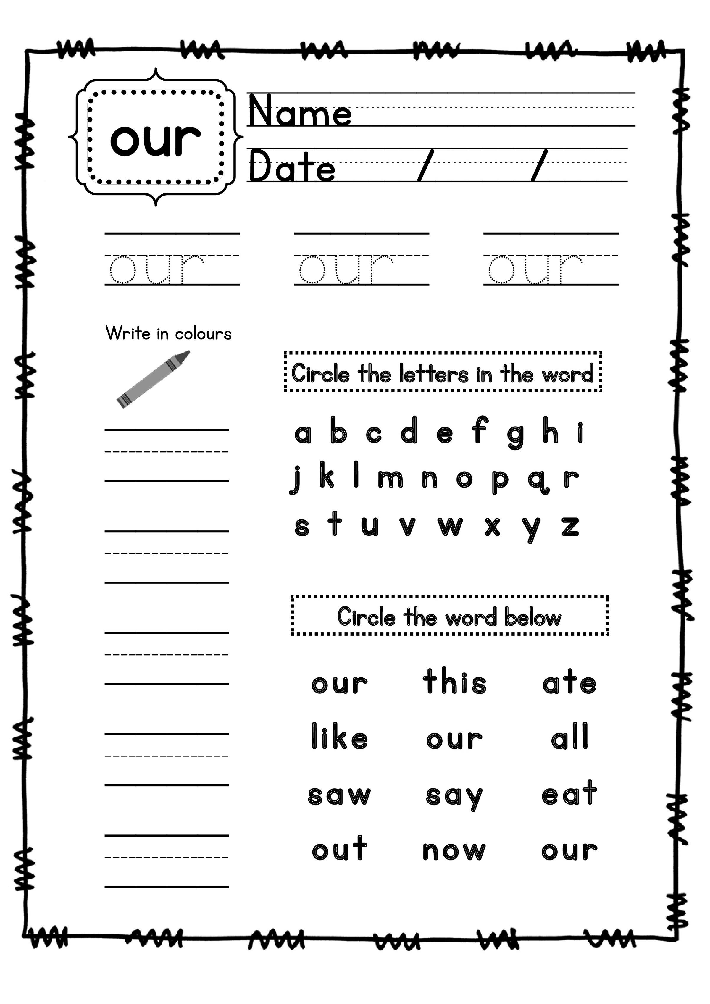 Children S Workbooks Free