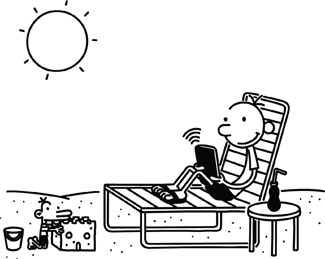Diary Of A Wimpy Kid Coloring Pages