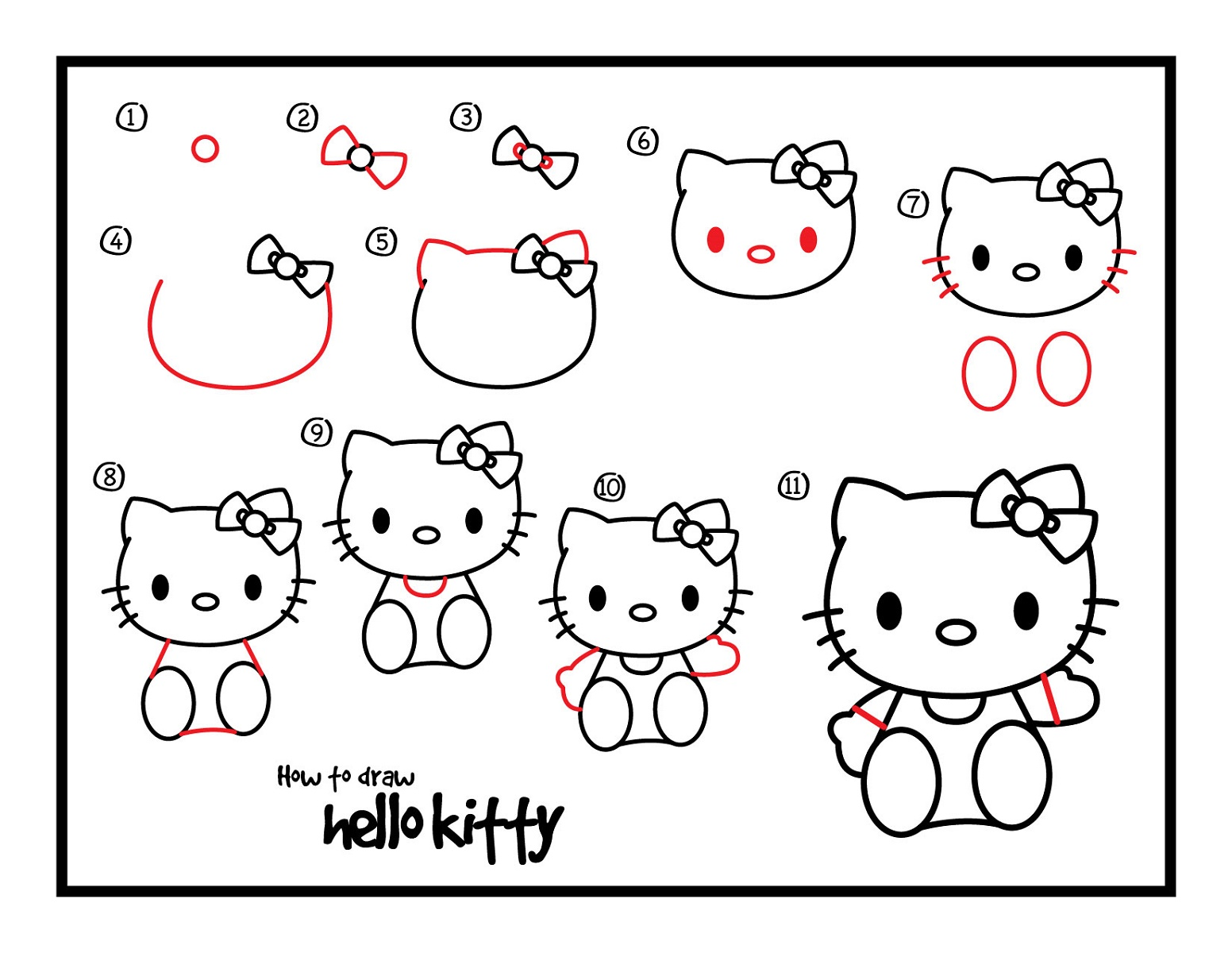 Drawing Sheets For Kids Hello Kitty K5 Worksheets