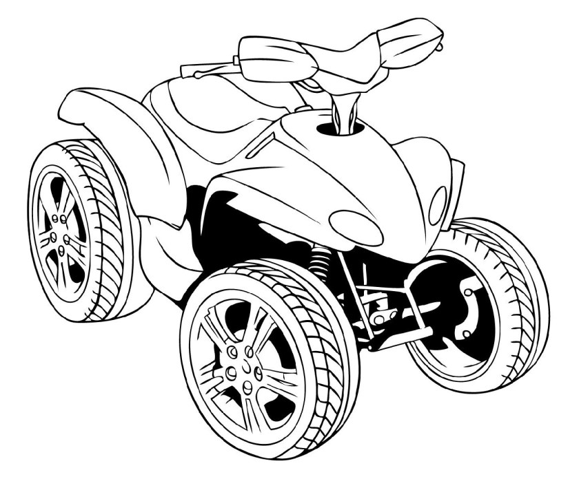 four wheeler coloring pages  k5 worksheets