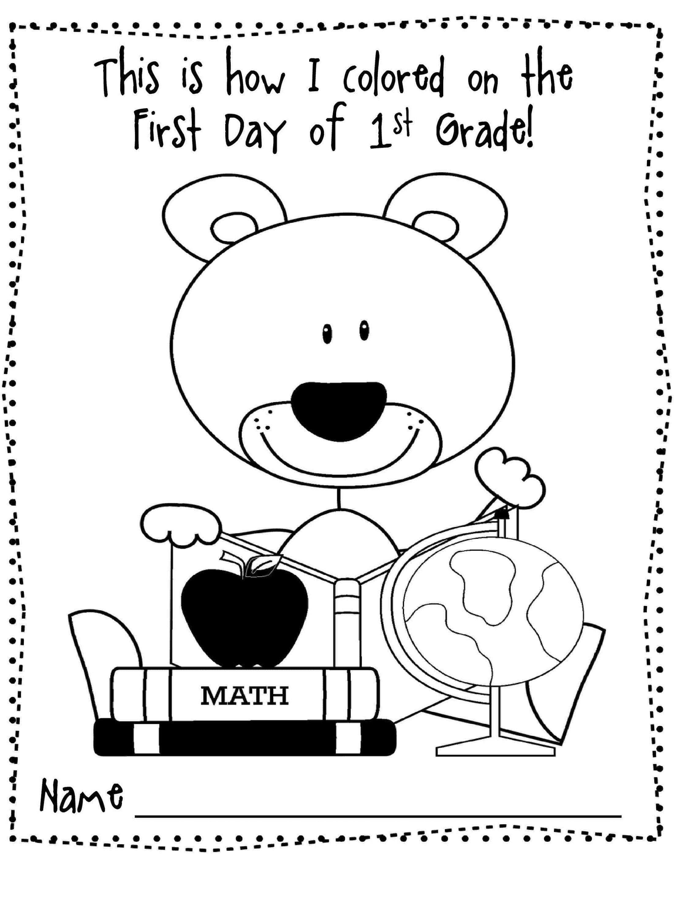 Last Day Of School Coloring Pages
