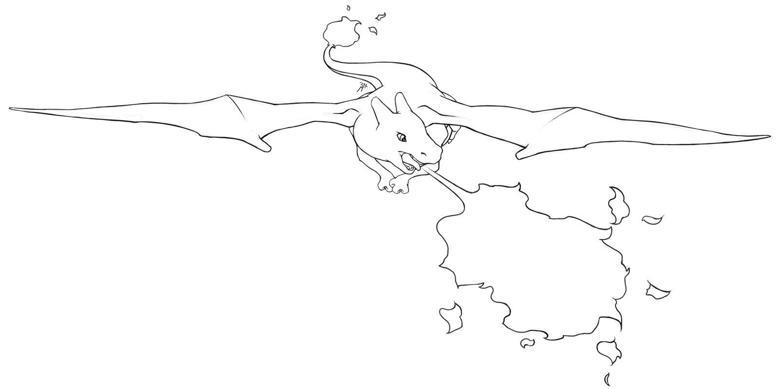 Pokemon Coloring Pages Charizard Free
