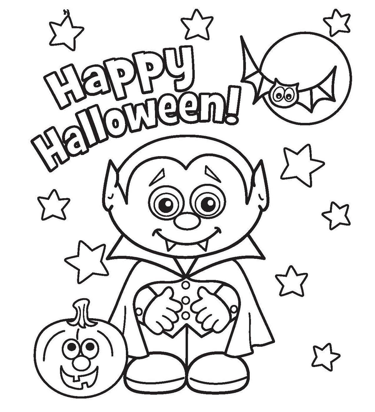 Halloween Coloring Sheets For Celebrating Halloween