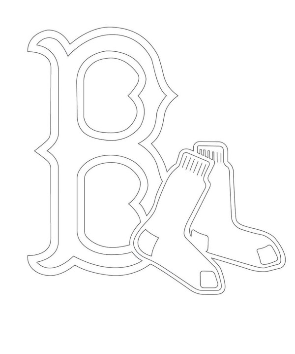 red sox coloring pages # 69