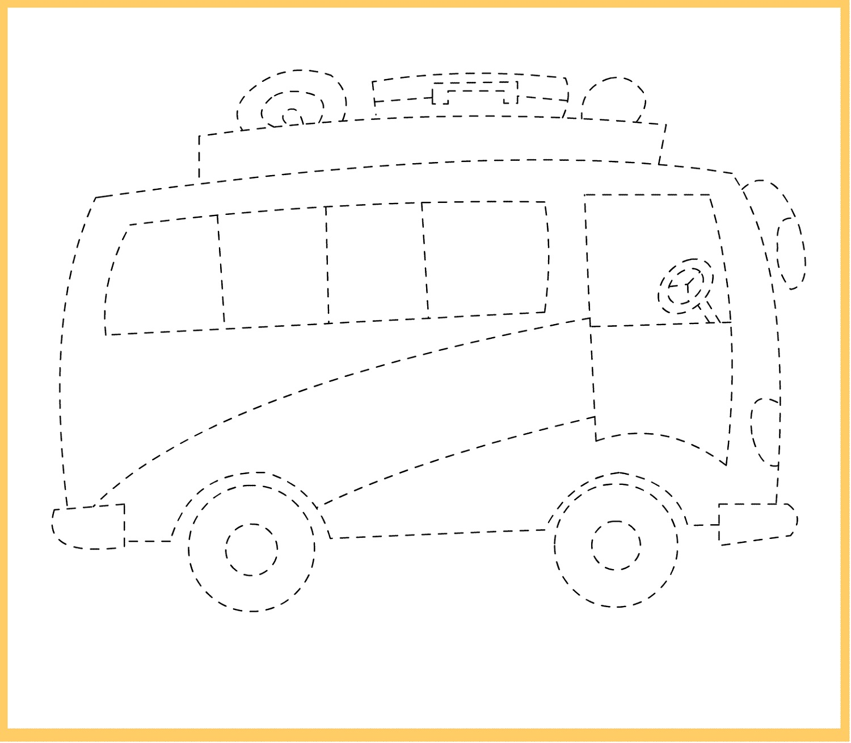 Transportation Worksheet For Kindergarten Addition