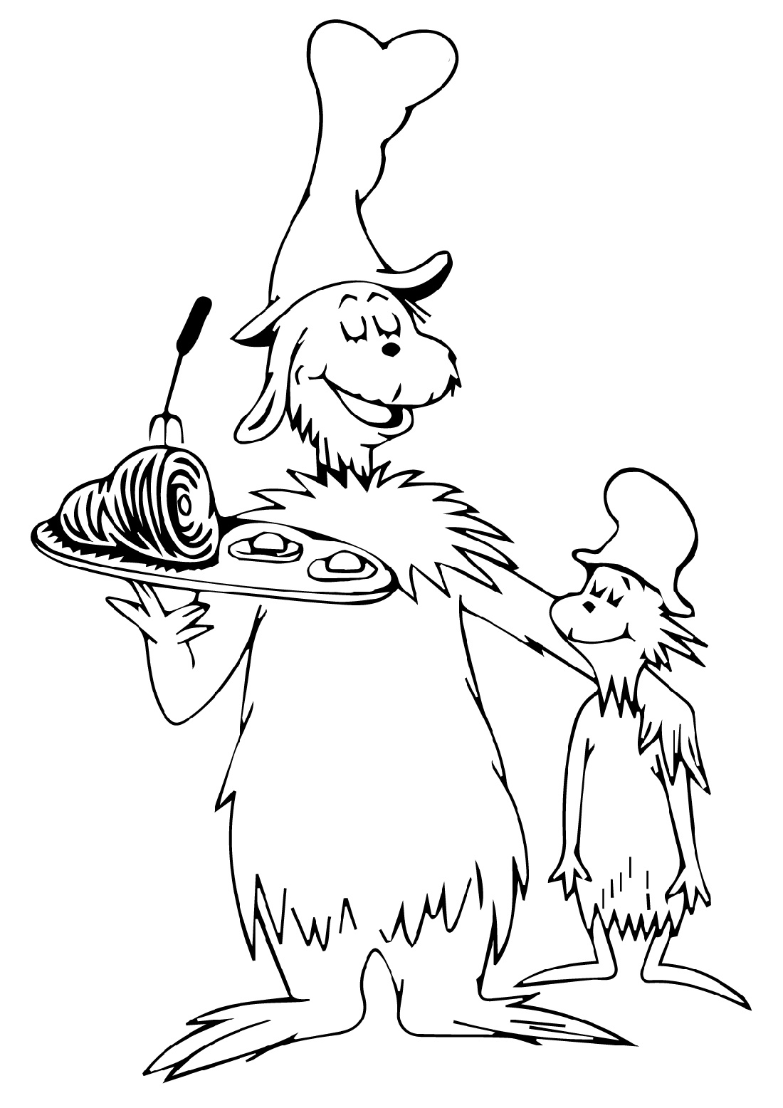 Green Eggs And Ham Coloring Pages Various Episodes