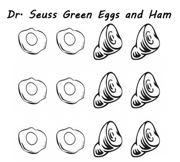 green eggs and ham coloring page # 51