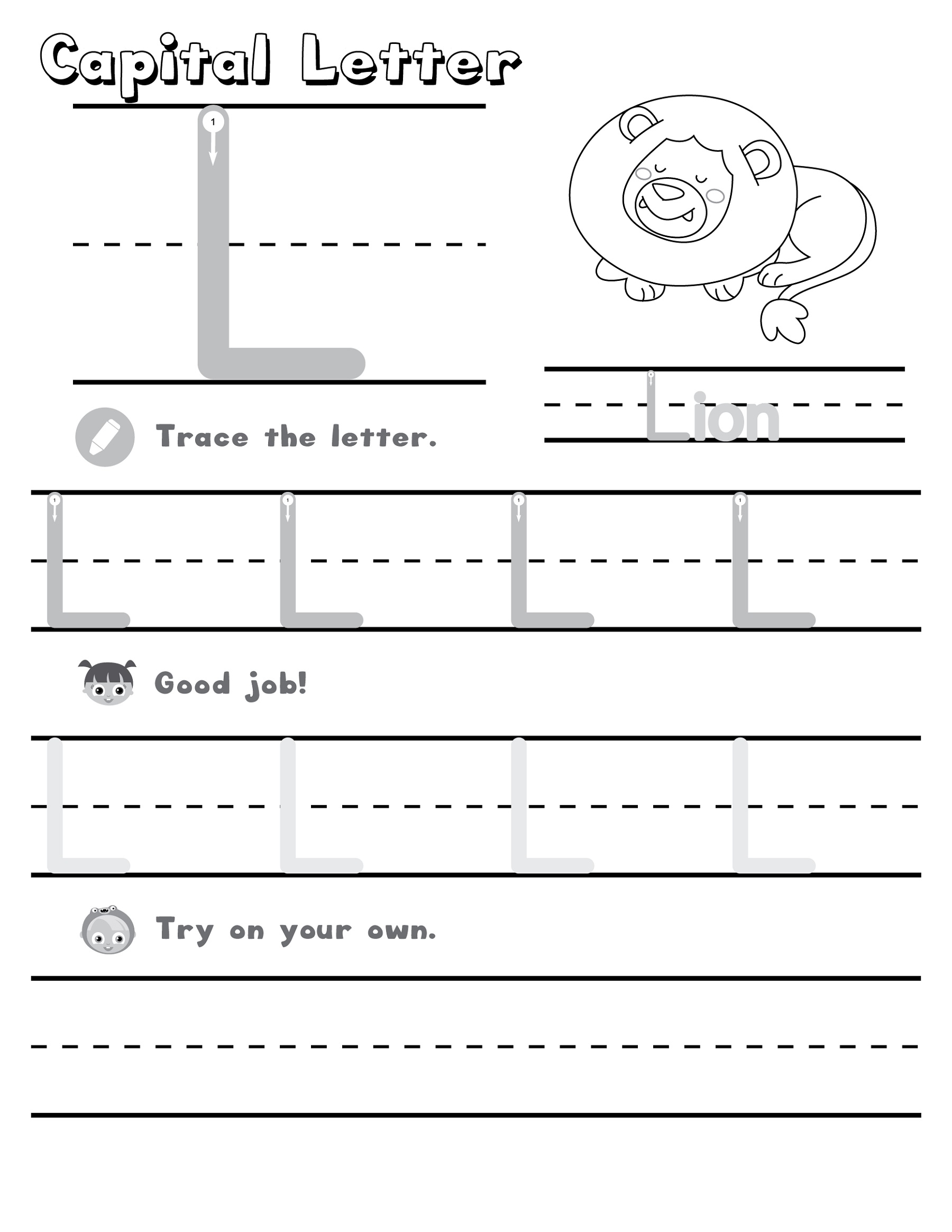 K5 Worksheets