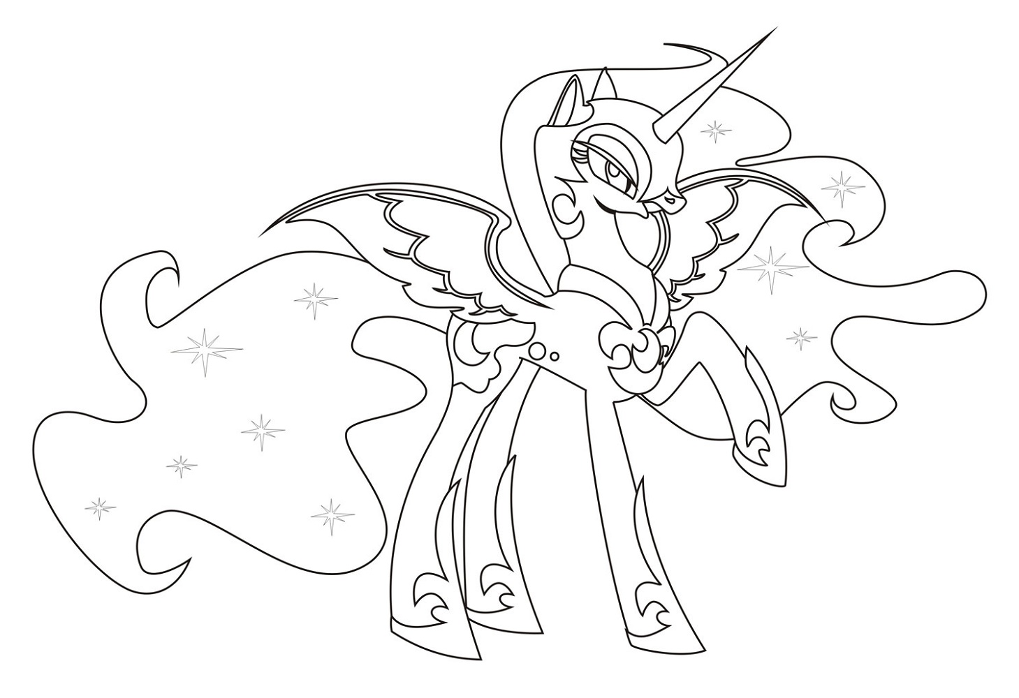 Mlp Coloring Pages Usable
