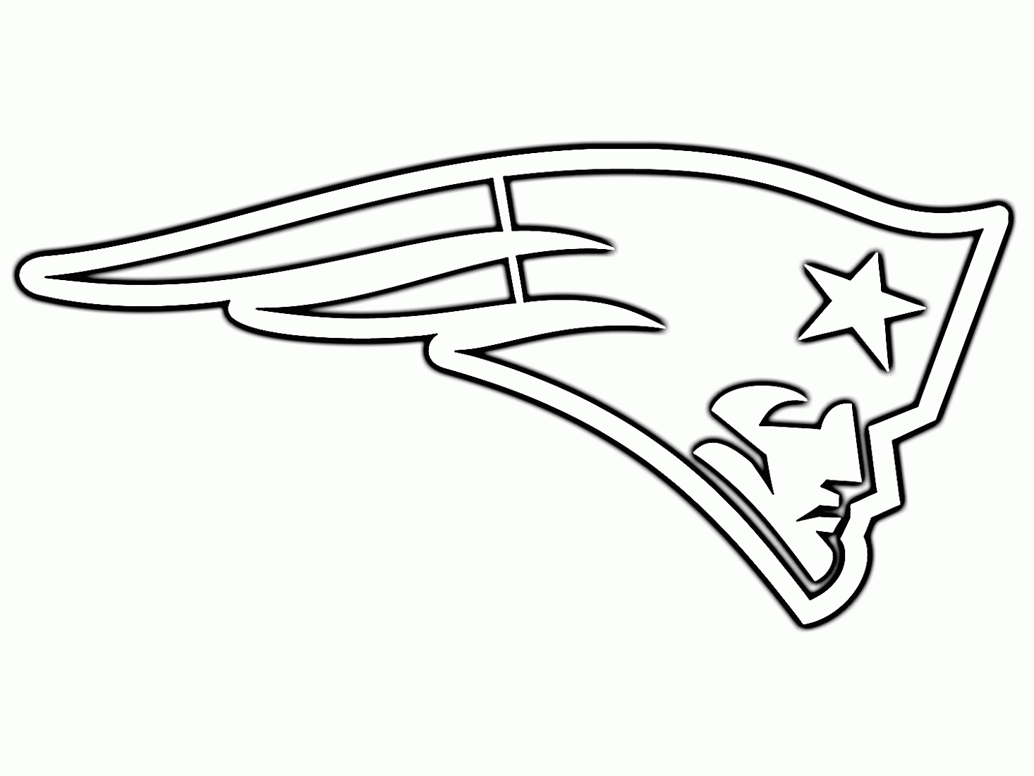 New England Patriots Coloring Pages Downloadable