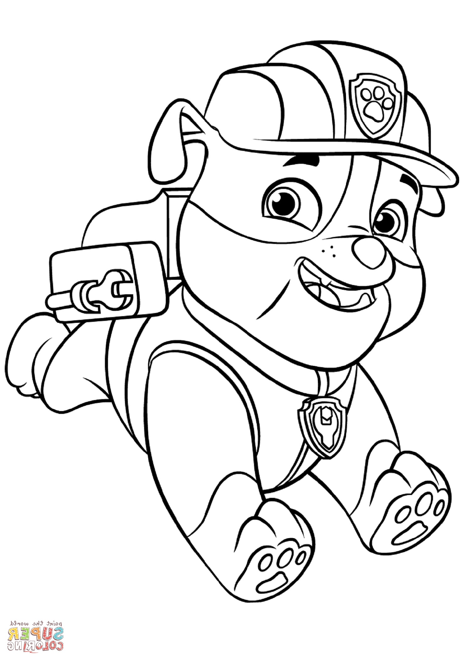 Paw Patrol Coloring Pages Downoadable