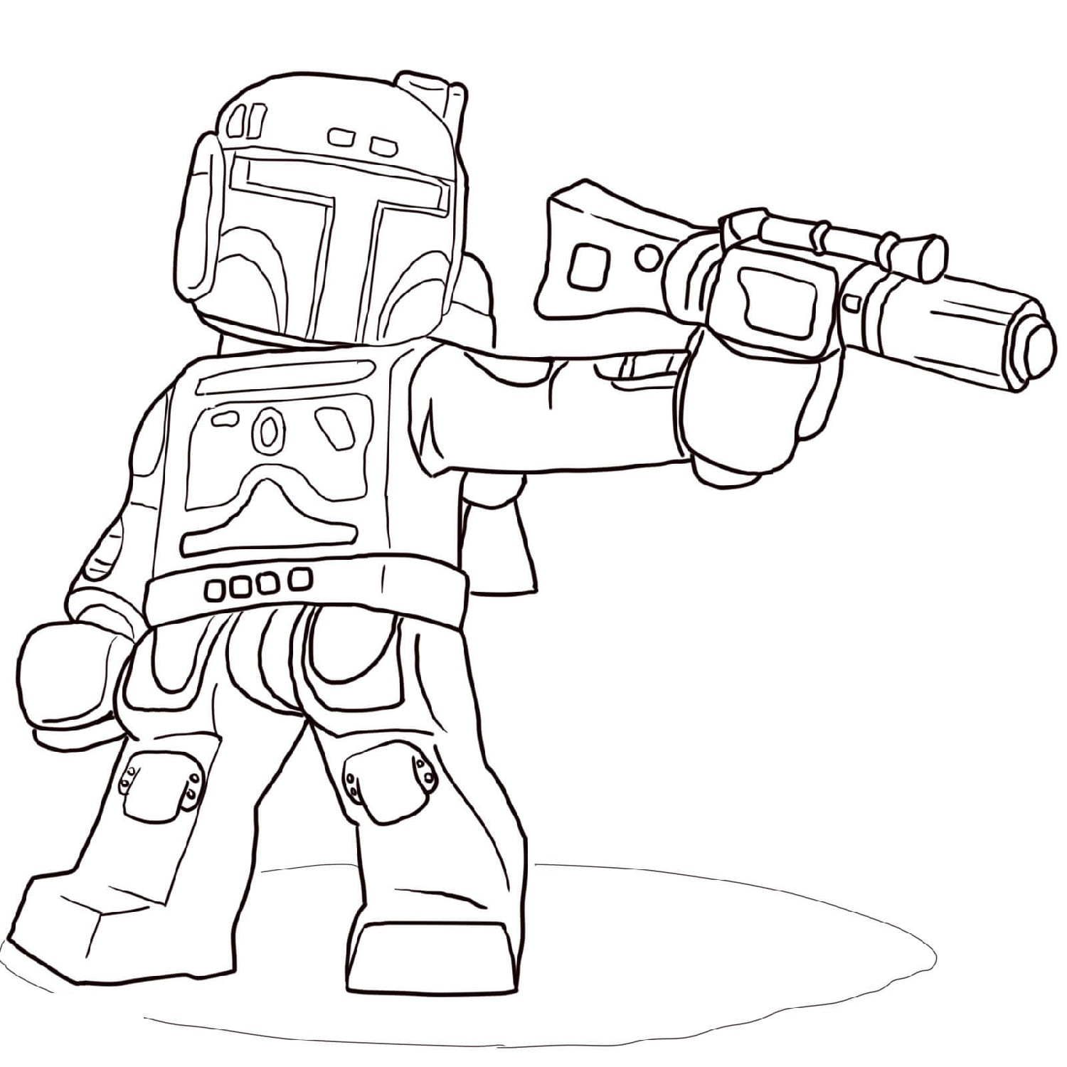 Clone Wars Coloring Pages Quick Usage
