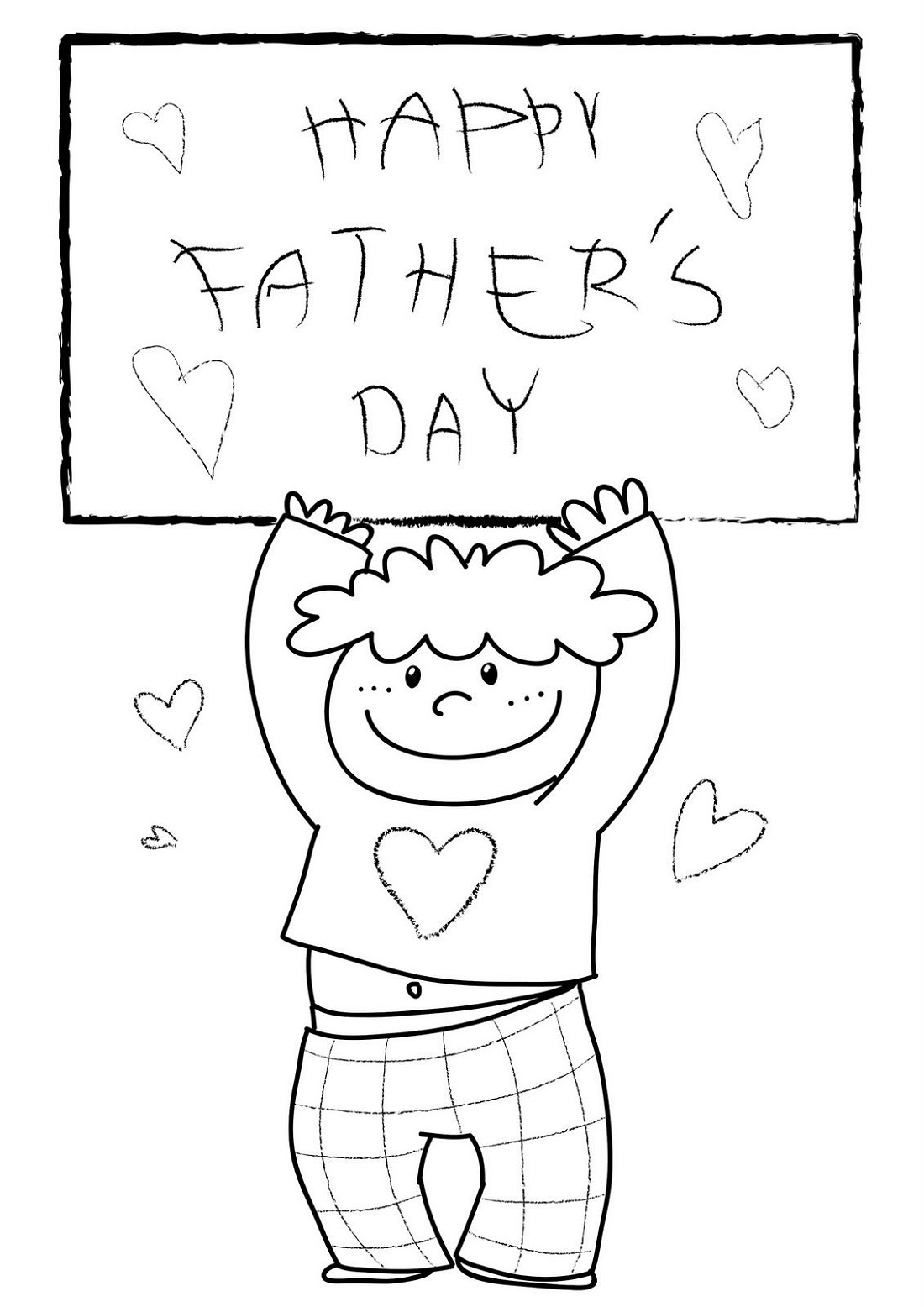 Fathers Day Coloring Pages Printable K5 Worksheets