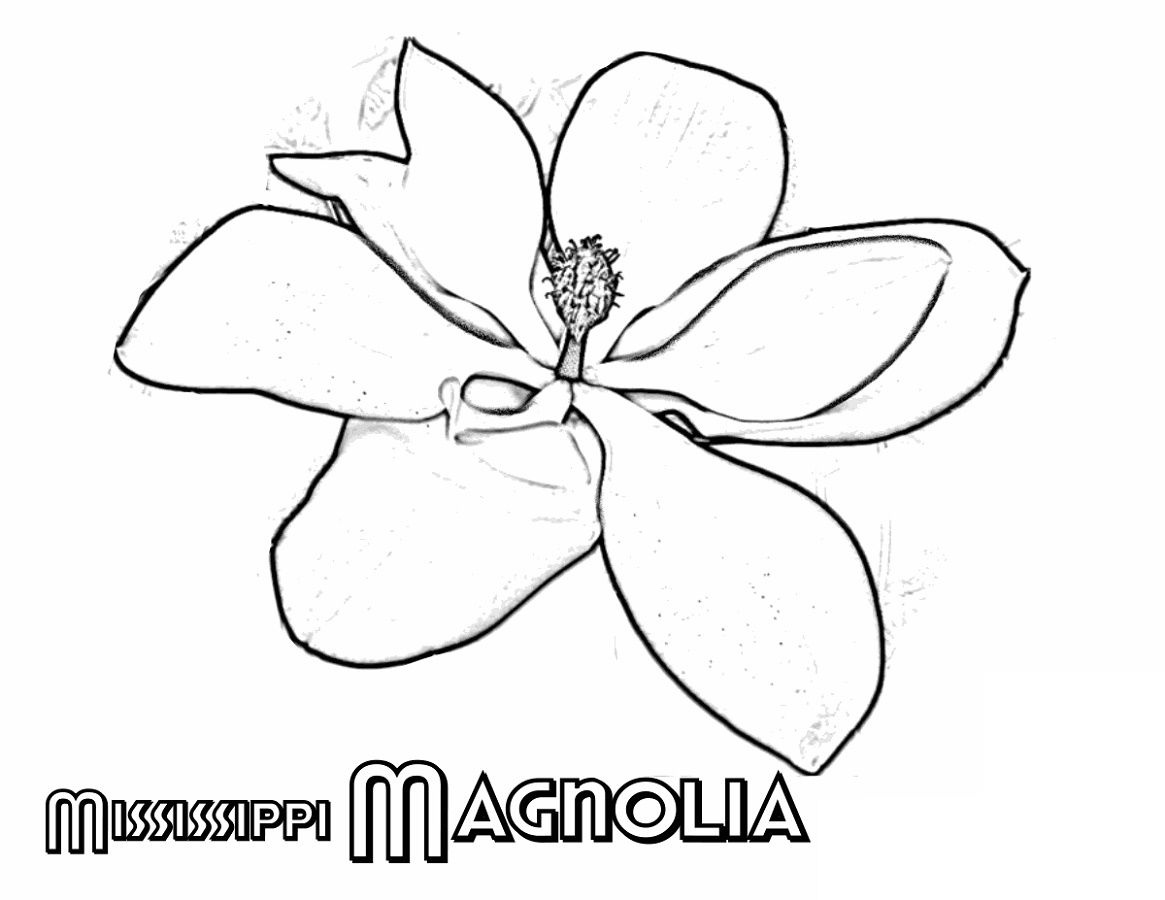 Flower Coloring Printable Offline
