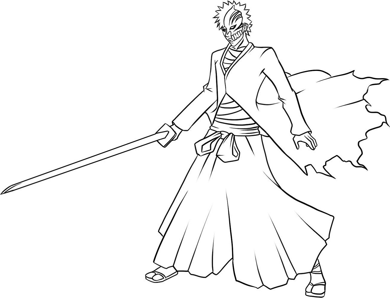 Bleach Coloring Pages Printable