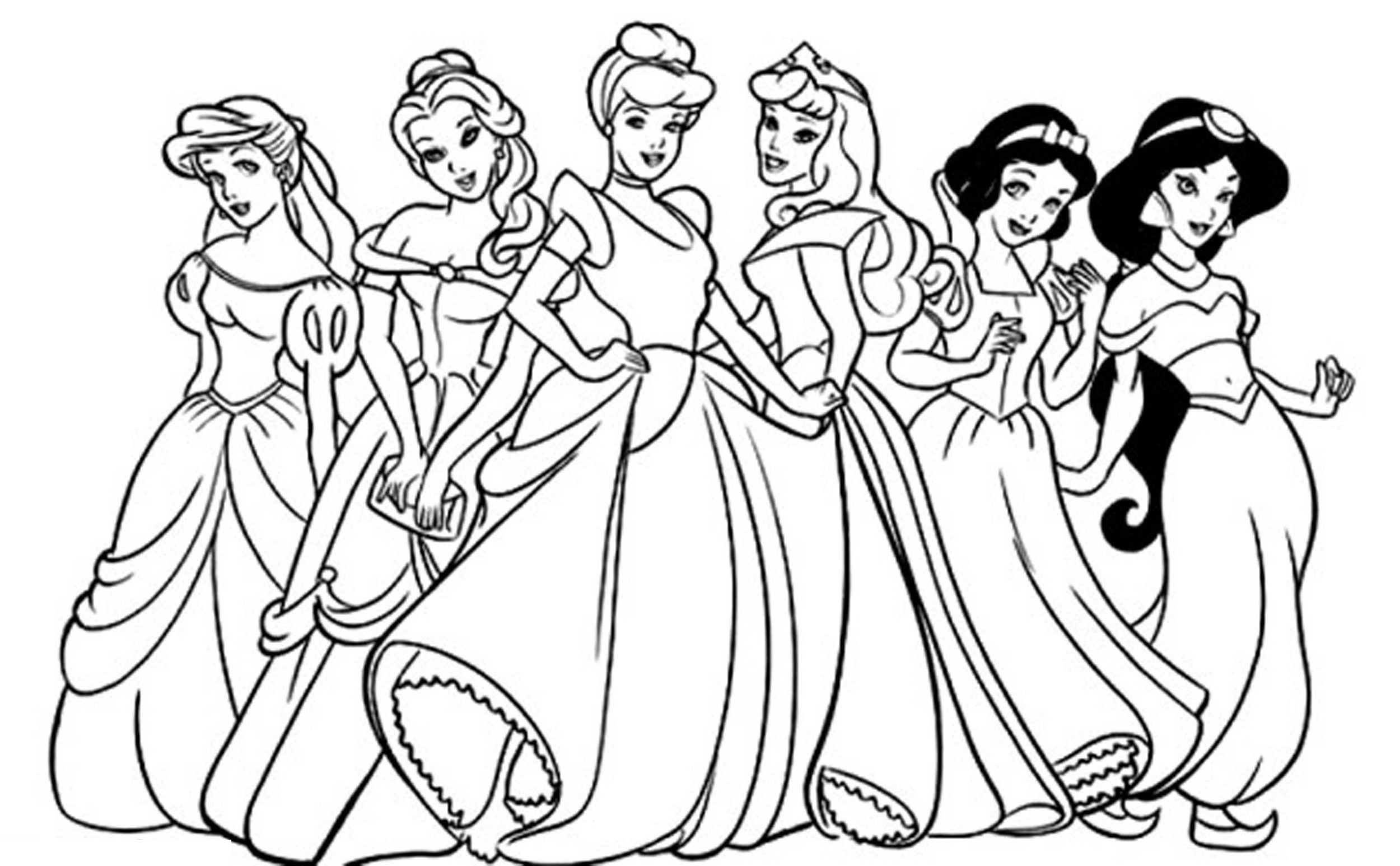 Free Disney Coloring Pages Characters