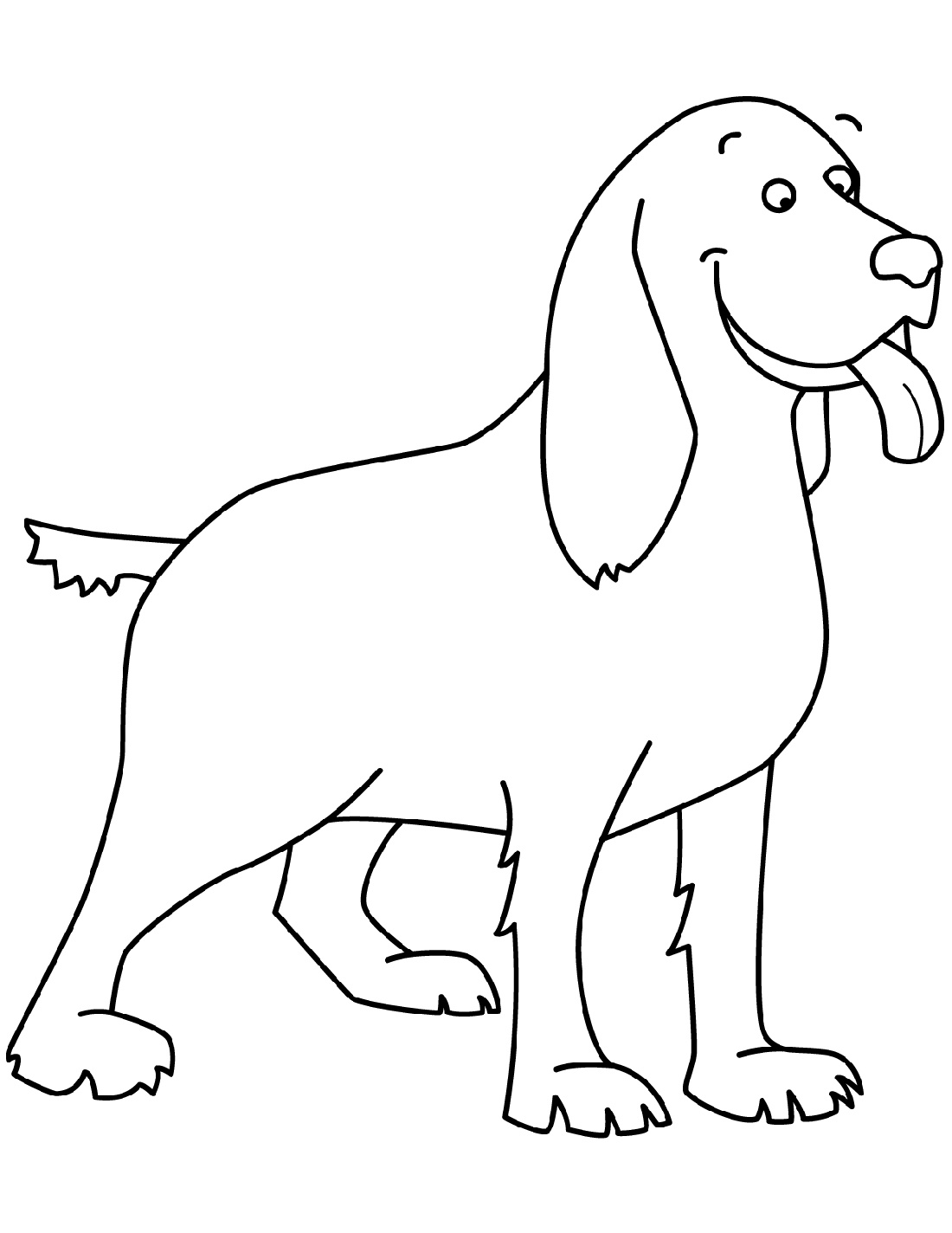 Beagle Coloring Pages Free Full Documents
