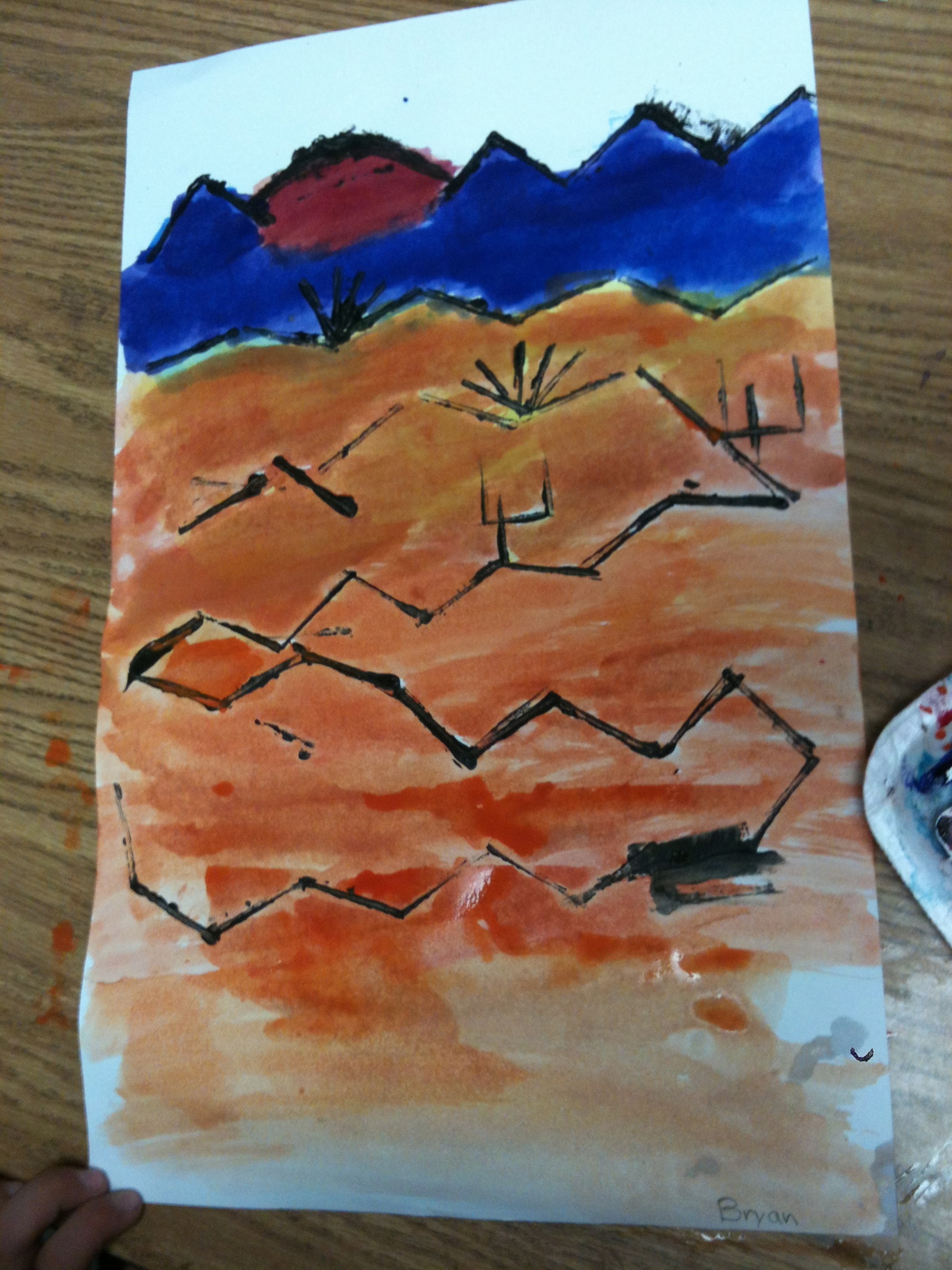 Paul Klee Painted Desert For Third Grade K 6 Artk 6 Art
