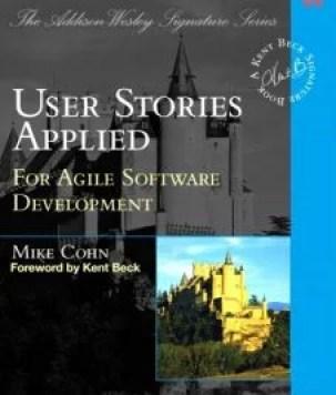 Okładka User Stories Applied