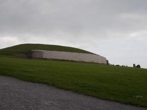 Newgrange passage tomb.
