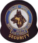 R.A.A.F Police Dog
