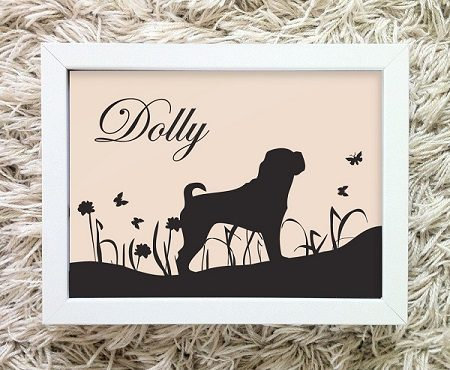Personalised Dog Print