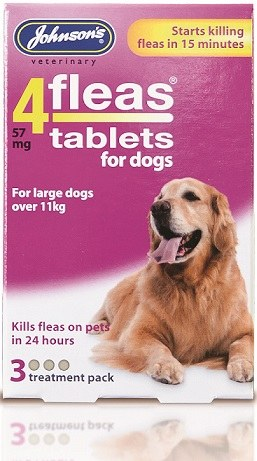 Johnsons 4fleas tablets pack