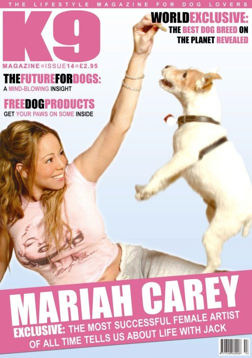K9 Magazine cover Mariah Carey