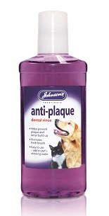 Johnsons anti-plaque dental rinse