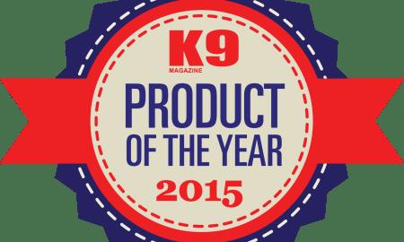K9 Magazine - Best Dog Products of 2015 Badge
