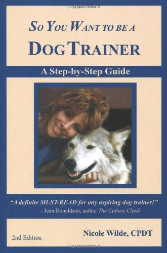 dog trainer books