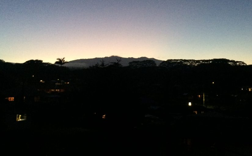 Mahalo to the Mountains