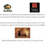 OFERTA 25% CUEVAS MEDUKILO-ASTIZ