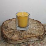 Chakra of votief kaarsjes met glaasje
