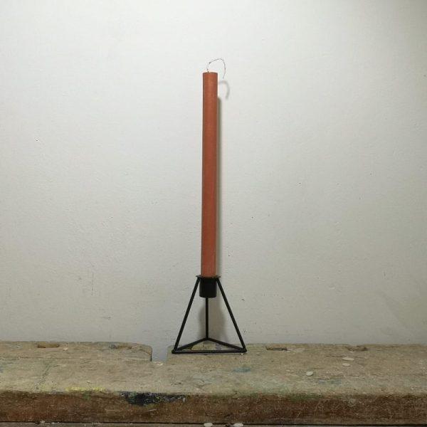 Tafelkaars koolzaadwas, ø 2 cm x 30 cm, bruin