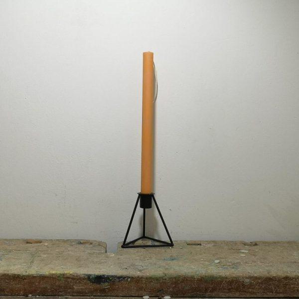 Tafelkaars koolzaadwas, ø 2 cm x 30 cm, oranje
