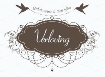 Tekst kaartje verloving