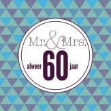 Tekst kaartje 60 jarig huwelijk